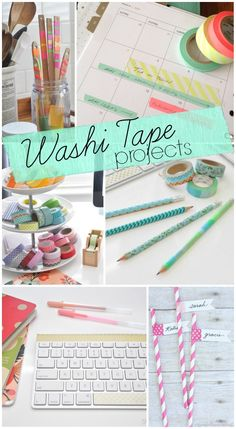 Top Washi Tape Projects