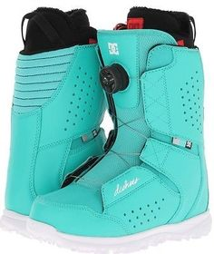 I WANT THEM SO BAD  DC Search 2014 Womens Snowboard Boots Teal 7