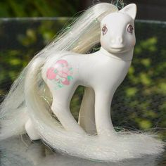 OMG!! I had this My Little Pony when I was a little girl!   Vintage My Little Pony 'Bridal Beauty' Very Rare Mint by TeaJay, £19.95