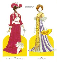 Great Fashion Designs of the Victorian Era by Tom Tierney, (16 of 17) Dover Publications