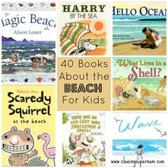 40 Books About the Beach for Kids