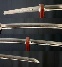 Samurai sword. detail -> http://en.wikipedia.org/wiki/Katana