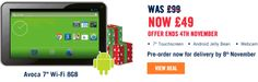 The Carphone Warehouse announces £49 Android Jelly Bean tablet – Avoca 7. Read more at http://www.hitechtop.com/the-carphone-warehouse-announces-49-android-jelly-bean-tablet-avoca-7/#0kJ9PERi4fPR6kAE.99