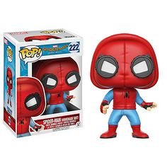 Figurine en vinyle de Spider-Man Pop! premier costume par Funko, Spider-Man : Homecoming