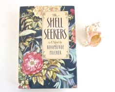 Hardcover Edition THE SHELL SEEKERS by Rosamunde Pilcher • 1987 • Photo Prop Decor Book Lovers Gift by KatesChockfullAttic on Etsy