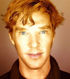 Benedict Cumberbatch is a GINGER... seriously? SERIOUSLY!!?!? It's official, I'm leaving my husband.