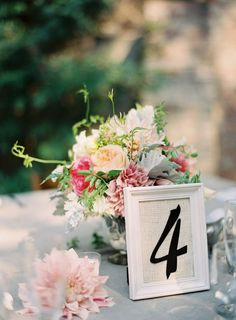 Easy to make table with a country twist - cheap white photo frames (ikea?), burlap and number decals Burlap Table Numbers, Framed Table Numbers, Wedding Table Settings, Wedding Table Numbers, Diy Wedding, Wedding Flowers, Wedding Ideas, Wedding Things, Wedding Stuff