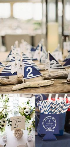 Ideas originales para una boda nautica