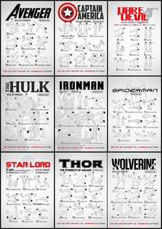 captain america, exercise, and iron man image Home Workout Men, Workout Routine For Men, Gym Workout For Beginners, Gym Workout Tips, At Home Workout Plan, Fitness Workouts, At Home Workouts, 300 Workout, Fitness Weightloss