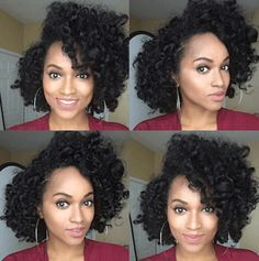 Fantastic Perm Rod Set Curls IG:@itsmebfairley  #naturalhairmag