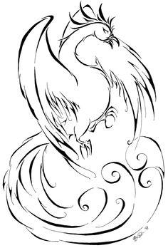 Phoenix by riotycurls.deviantart.com on @deviantART