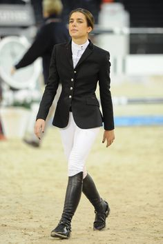 Charlotte Casiraghi is riding high with majestic performance at the Gucci Masters -