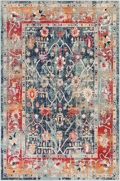 Surya Bohemian Distressed Rugs | Rugs Direct