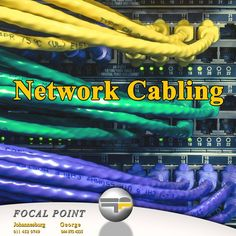 Contact Focal Point for all your domestic or corporate network cabling needs. Harman Kardon, Network Cable, Technology, Movie Posters, Tech, Film Poster, Tecnologia, Billboard, Film Posters