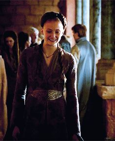 """When she expertly hid her joy of Joffrey finding a new wife from the world. 