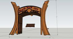 Reno Arch Effigy