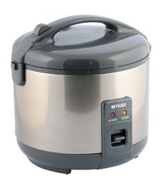 Tiger - Tiger Electric Rice Cooker and Warmer with Stainless Steel Finish - Rice Cookers and Food Steamers Tiger Rice Cooker, Best Rice Cooker, Rice Cooker Recipes, Stainless Steel Rice Cooker, Specialty Appliances, Small Kitchen Appliances, Cool Things To Buy, Ebay, Electric