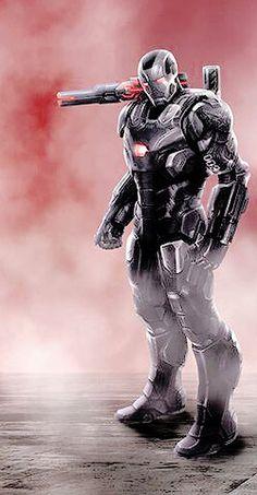 War Machine Captain America Civil War Concept Art