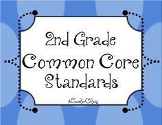 FREE TODAY ONLY! This document lays out all of the 2nd grade Common Core standards with a teacher voice and