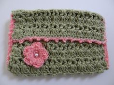 Crocheted Pocket Size Tissue Cover  Free by HunnybeeCrafts on Etsy, $8.00