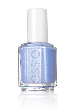"""essie-summer-nail-polish-bikini-so-teeny    """"This pretty periwinkle has iridescent shimmer that gives the shade a sexy sheen.""""  Essie in """"Bikini so teeny"""" available in june"""