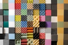 We have a broad range of acoustic foam for a vast range of environment. Including a variety of technical ability specific to your needs. Colorful Apartment, Acoustic Wall, Material Board, Textile Texture, Exhibition Display, Co Working, Sound Proofing, Display Design, Colorful Interiors