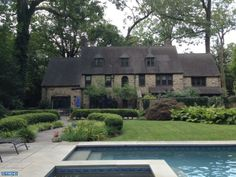 Stone Norman style home in Haverford, PA.  MLS 6350303