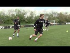How to run harder and react quicker | Soccer training drill | Nike Academy