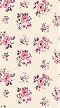 Ditsy Floral Pattern on Behance Floral Pattern Wallpaper, Vintage Flowers Wallpaper, Print Wallpaper, Disney Wallpaper, Flower Background Wallpaper, Flower Phone Wallpaper, Wallpaper Backgrounds, Iphone Wallpaper, Rainbow Wallpaper