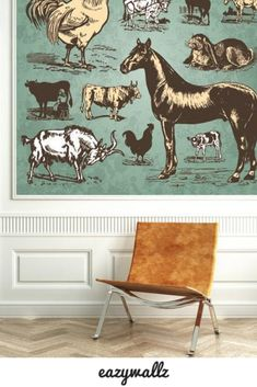Take your decor to the wild side with Eazywallz 🐾 Whether you prefer bold & fierce, or a minimalist twist to embrace nature within your home, we have the mural to suit your style. #worldanimalday #animalwallpaper #animalwallmural