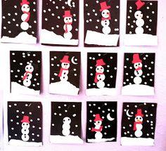 Mama's Little Muse: Snowman craft