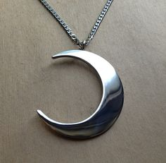 Moon Priestess Necklace by EvilPawnJewelry on Etsy, $69.99