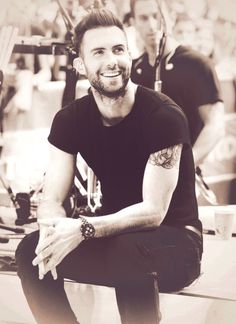 Adam Levine is a babe ~ I like his speaking voice, his tattoo's, his style, his onscreen presence.... *sigh* ... back to my life. ;)