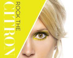 Golf . Women . Female . Citron . Athletic . Style . Wilson Staff . Neon . Fashion . Make-up . Style . Eyeshadow