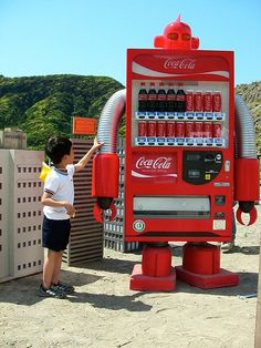 Vending Machine Red by 45M, via Flickr