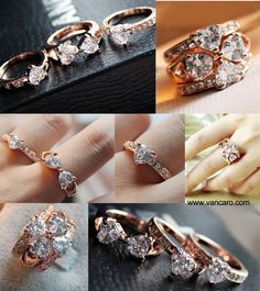 clover ring!!! want it!!!