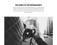 TRY OUR PRODUCTS TODAY! FREE SAMPLE SET FOR PHOTOGRAPHER'S  We are so excited to offer you Free Photoshop Actions to try … and also that you landed on this page. After all, there are millions of photography resources out there so for you to find me I am super excited! Welcome. I hope you get a ton of information to grow your skills. Feel free to share any blog posts that you think will also help others.