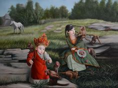 Journey to the West No. 2 by Zhao Limin. jen@yanggallery.com.sg – YangGallery