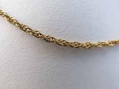"""24"""" 18K Gold Filled Rope Chain #Chain"""