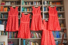 Bridesmaid Dresses - Getting ready for the big day -East Riddlesden Hall Yorkshire Wedding Photography - Reportage