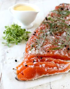 Smoked salt and peppercorn cured trout