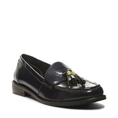 ACADEMY NAVY women's tailored man tailored loafer - Steve Madden
