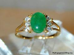 jade ring my engagement ring - Jade Wedding Ring