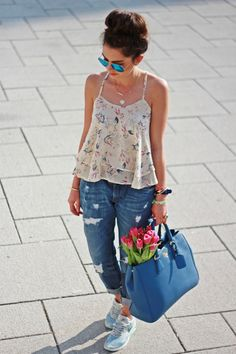 FashionHippieLoves: casual, sporty spring look