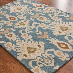 nuLOOM Handmade Ikat Wool Rug (5' x 8') | Overstock™ Shopping - Great Deals on Nuloom 5x8 - 6x9 Rugs