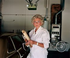 Larry Sultan- Pictures from home Mom Garage Portrait / 1988