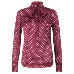 Avril Shirt Plum, $39, now featured on Fab.