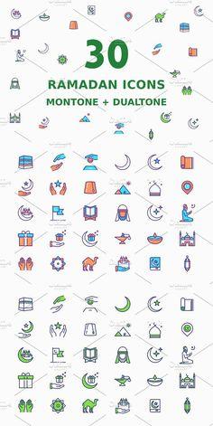 Ramadan Icons. Icons