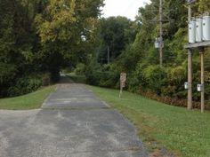 Westboro Canterbury Greenway, Liberty Missouri, Trail on old rail road bed