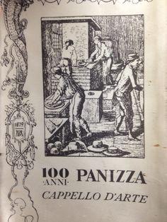 Gagliardetto 100 Anni del glorioso Cappellificio Panizza.
